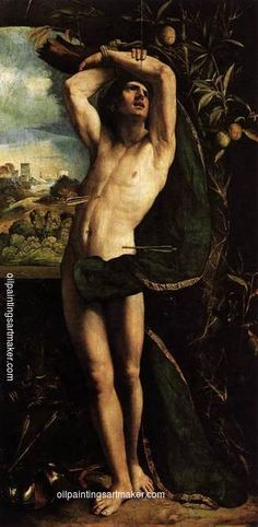 Dosso Dossi St Sebastian - Dosso Dossi, painting Authorized official website
