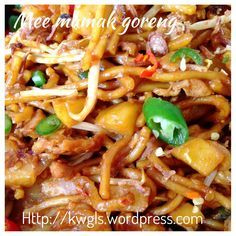 Uncle's Fried Noodles?–Mee Goreng Mamak (印度炒面)