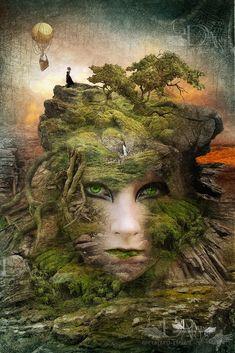 mother nature by greenfeed.deviantart.com on @deviantART