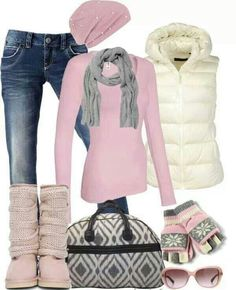 Gray Boats Outfit Winter Casual Hats New Ideas Komplette Outfits, Fashion Outfits, Womens Fashion, Scarf Outfits, Cute Casual Outfits, Stylish Outfits, Fall Winter Outfits, Autumn Winter Fashion, Casual Winter