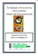 FREE Lapbook for Where the Wild Things Are  Can't wait to doo this with Boogie