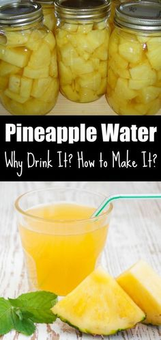Pineapple Water: Why Drink It? How to Make It? – Christyona Green Pineapple Water: Why Drink It? How to Make It? Pineapple Water: Why Drink It? How to Make It? Healthy Detox, Healthy Drinks, Healthy Eating, Healthy Recipes, Easy Detox, Diet Detox, Fruit Detox, Acai Fruit, Colon Cleanse Detox