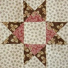 Red Rooster Quilts: Shop | Category: Patterns - Download for FREE | Product: Ohio Star Downloadable Quilt Block Pattern