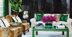 House Tour: An Empty Nest Near Toronto Pays Homage To Coco Chanel