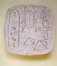 ancient egyptian carving tablets