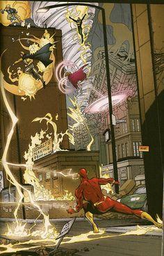 Rogue War - Flash by Howard Porter
