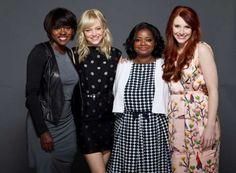 Viola Davis, Emma Stone, Octavia Spencer& Bryce Dallas Howard
