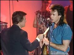 American Bandstand 1988 Rick Springfield Interview