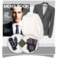 Bez naslova #840 by ljubicica988 on Polyvore featuring Brooks Brothers, BOSS Hugo Boss, polyvoreeditorial and blackcouk