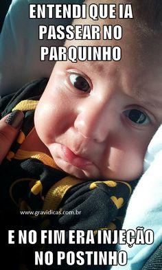 25 melhores memes de maternidade ⋆ GRAVIDICAS Funny Babies, Cute Babies, Baby Memes, Happy Life, Cute Kids, Haha, Funny Pictures, Humor, Children