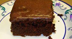 Low Fat Devil's Chocolate Cake | World of recipe