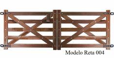 Porteira De Madeira - Modelo 004 - R$ 539,00 no MercadoLivre