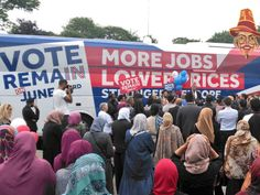 London's Muslim Mayor Holds Rally With Women Forced to the Back  Jim Hoft Jun 16th, 2016