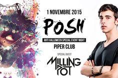 Milling Pot torna in scena sul palco che l'ha cresciuto. 1.11.15 Piper Club Roma!