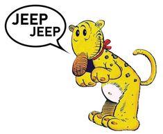 Eugene the Jeep   Etsy
