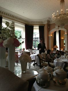 Historic Dublin Hotel and perfect for High Tea Horseshoe Bar, Dublin Hotels, How To Make Buttermilk, Renaissance Hotel, Finger Sandwiches, Clotted Cream, Best Tea, Strawberry Jam, Loose Leaf Tea