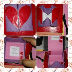 Heart box with a message