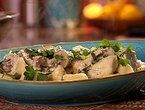 Potato Gnocchi with Wild Mushroom Sugo - so good. Remember to try with ...