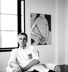 It's official, Raf is Chief Creative Officer at Calvin Klein.