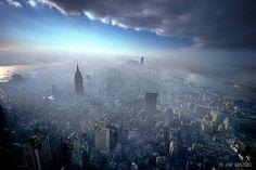 Jay Maisel  New York City Aerial