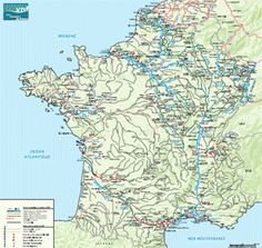 Le tourisme fluvial en France French Waterways Canals Rivers