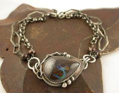 Koroit Boulder Opal Vine Bracelet  by Simply_Adorning, via Flickr