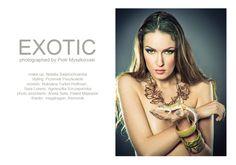 Fotograf: Piotr Myszkowski   Modelka: Roksana Turkot- Hoffman    Natalia Świętochowska / Make-up Artist / Warsaw