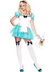Adult Enchanted Alice Costume, $39.99