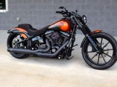Harley Davidson Softail Breakout Custom by The Bike Exchange 01 Harley Davidson Museum, Classic Harley Davidson, Harley Davidson Chopper, Harley Davidson News, Harley Davidson Motorcycles, Harley Bikes, Best Bike Shorts, Cheap Motorcycles, West Coast Choppers