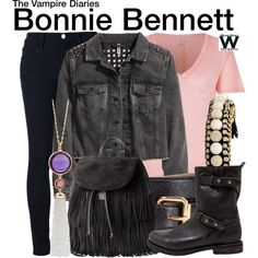 Inspired by Kat Graham as Bonnie Bennett on The Vampire Diaries - Shopping info!