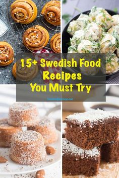 A collection of authentic and not-so-traditional Swedish Recipes that you must t. - WORLD CUISINE Recipes - Swedish Cuisine, Swedish Dishes, Swedish Recipes, Turkish Recipes, Sweet Recipes, Swedish Foods, Romanian Recipes, Scottish Recipes, Gourmet Recipes