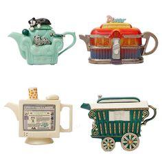 Interesting , Funky Teapots! :)
