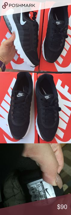 Nike WOMENS original air max black Sz 8.5 new Nike WOMENS original air max black Sz 8.5 new item#0057 Nike Shoes