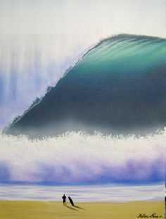 Big wave art