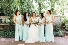 This Bride  Bridesmaids = Babe Alert!