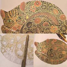 Millie Marotta's Tropical World - Cat