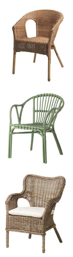 Furniture made of natural fiber is lightweight, yet sturdy and durable. These chairs make great accent pieces, adding depth and texture to a room.