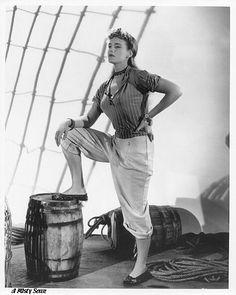 "Frances Farmer, ""South of Pago Pago"" 1940"