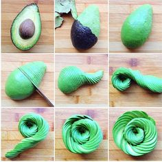 We're kind of obsessed with this avocado rose by @whollyvegan. How amazing is THIS?! by healthmagazine