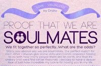 Proof That We Are Soulmates [daily infographic] - Cool Daily Infographics | Visual Knowledge