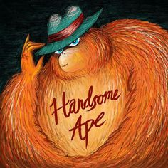 Thoroughly enjoyed coming up with this handsome and rather shady character for @handsomeapeband's new album cover. And a big thank you to @hireanillo for featuring it on their homepage and in this week's newsletter!  #albumart #albumcover #albumdesign #illustration #handsomeape #orangutan