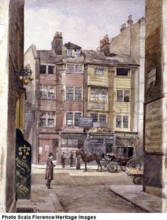 Aldersgate Street, London, 1886 ..I worked there in 1957! It looked a wee bit different!