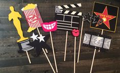 Oscar party props/ movie theme birthday props / oscar props/ academy award…