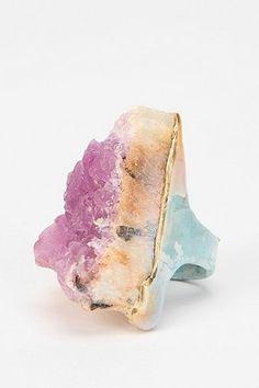 Adina Mills | Pink Fluorite Ring
