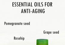 10 ESSENTIAL OILS FOR ANTI-AGING SKIN CARE