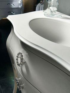 Barokk fürdőszobabútor - www.montegrappamoblili.hu Home Remodeling, Sink, Bathtub, 3, Bathroom, Urban Chic, Home Decor, Products, Powder Room