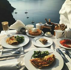 When the view is as delightful as your breakfast!