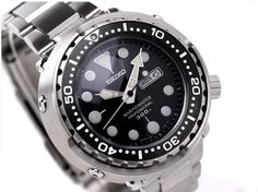 Seiko Prospex Marine Master Pro 300M Diver Quartz (Tuna Can) with bracelet - 50mm diameter - SBBN015 - $1120