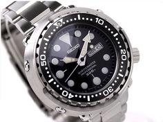 Seiko Prospex Marine Master Pro 300M Diver Quartz (Tuna Can) with bracelet - 50mm diameter - SBBN015 - $1120