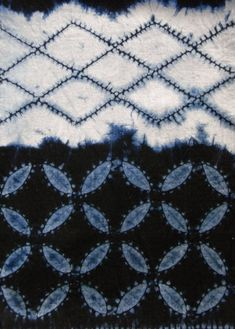 One of the best blogs I have seen on shibori with pictures and explanation. More historical.